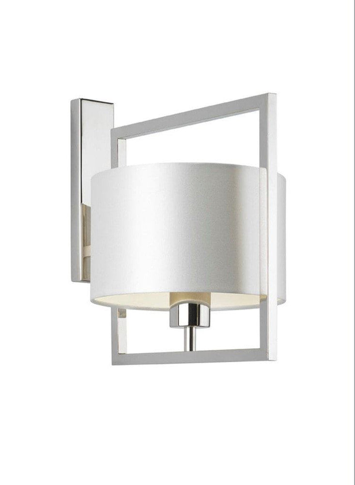 Heathfield Conniston Nickel Wall Light