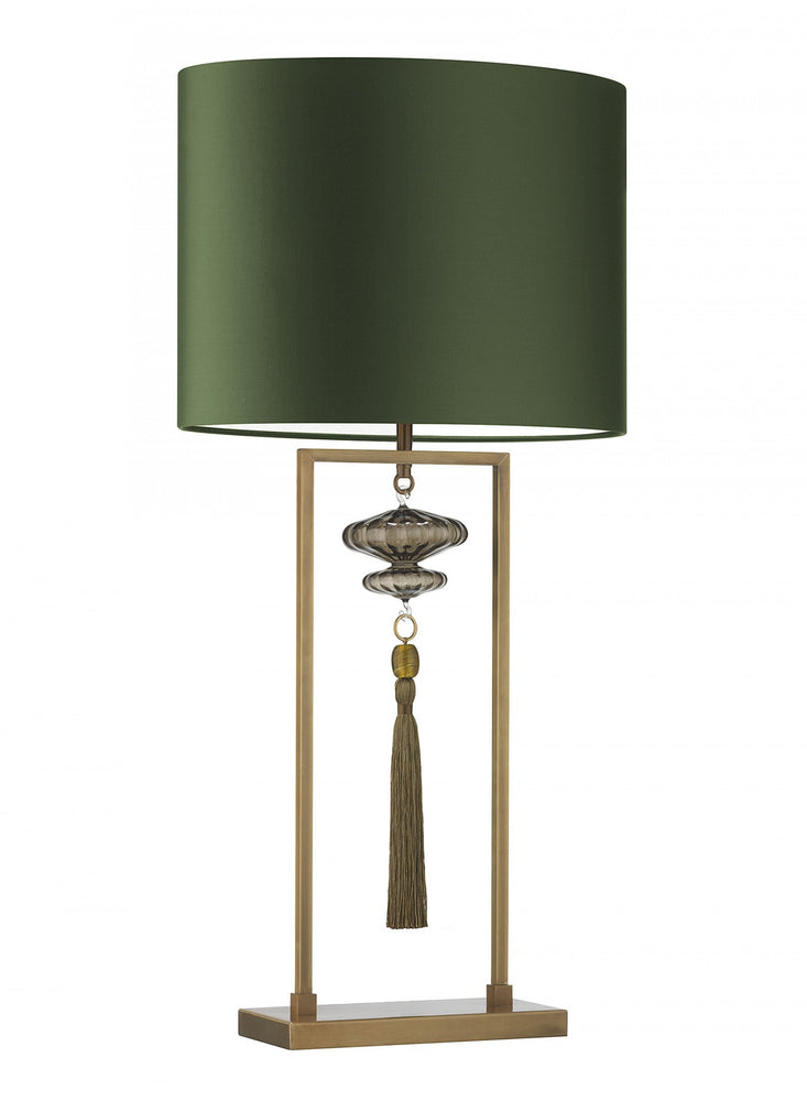 Heathfield Constance Antique Brass Gold Table Lamp
