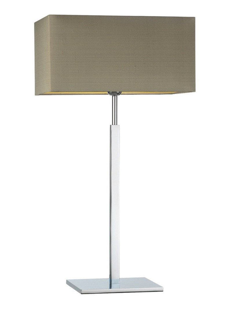 Heathfield Dakota Chrome Large Table Lamp