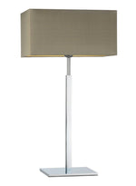 Heathfield Dakota Chrome Large Table Lamp - Decolight Ltd