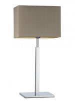 Heathfield Dakota Chrome Medium Table Lamp