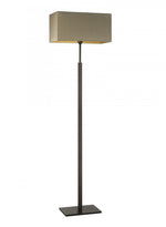 Heathfield Dakota Oiled Bronze Floor Lamp