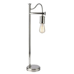 Decolight Douille Desk Lamp Polished Nickel - Decolight Ltd