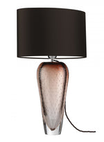 Heathfield Esme Garnet Glass Table Lamp
