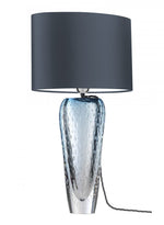 Heathfield Esme Sapphire Blue Glass Table Lamp