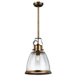 Decolight Hobs Pendant Ceiling Light Aged Brass