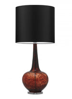Heathfield Grace Tuscan Red Glass Table Lamp