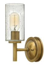 Collier 1lt Wall Light Heritage Brass | Decolight | Hinkley Lighing