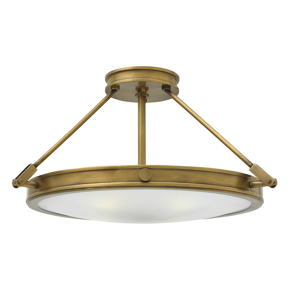 Decolight Collier 3 Light Large Semi-Flush - Decolight Ltd