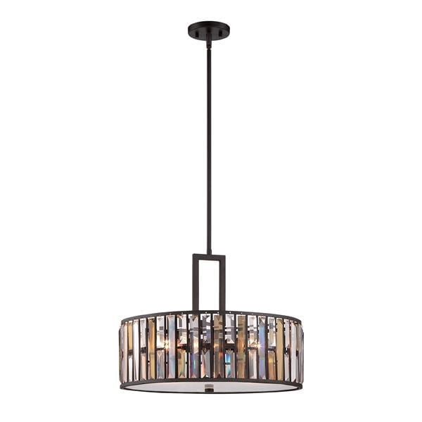 Decolight Gemma Contemporary Chandelier / 3lt Pendant