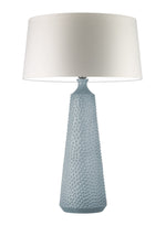 Heathfield & Co Clothide Shell  Ceramic Table Lamp