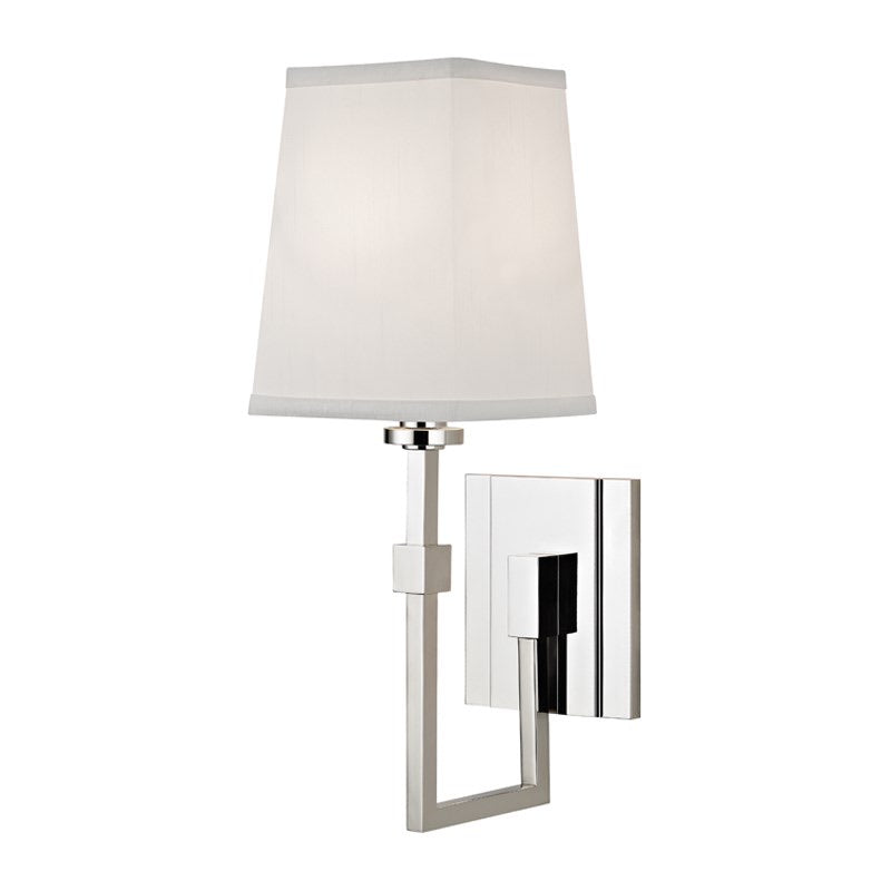 Hudson Valley Fletcher Polished Nickel Wall Light