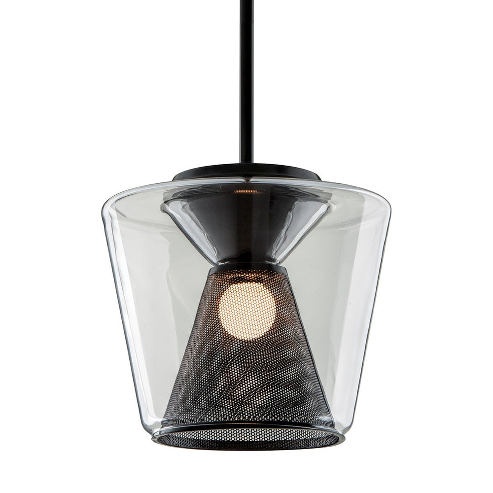 Troy Lighting Berlin Gun Metal Ceiling Light - Decolight Ltd