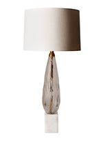 Heathfield Haywood Smoke Table Lamp - Decolight Ltd