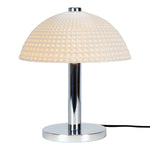 Original BTC Cosmo Dimple Natural Table Lamp
