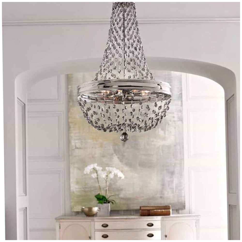 Decolight Louis 8 Light Chandelier - Decolight Ltd