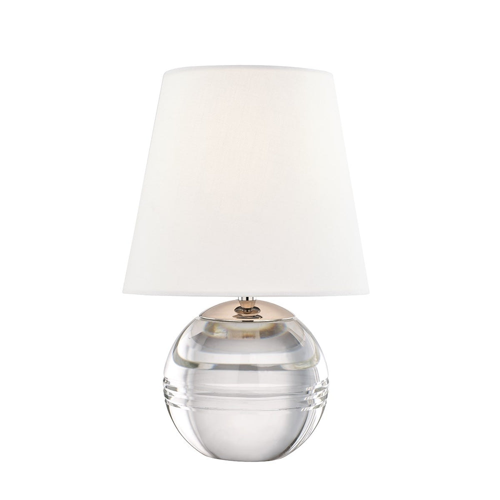 Mitzi Lighting Nicole Polished Nickel Table Lamp