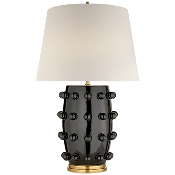 Kelly Wearstler Linden Table Lamp Black Medium