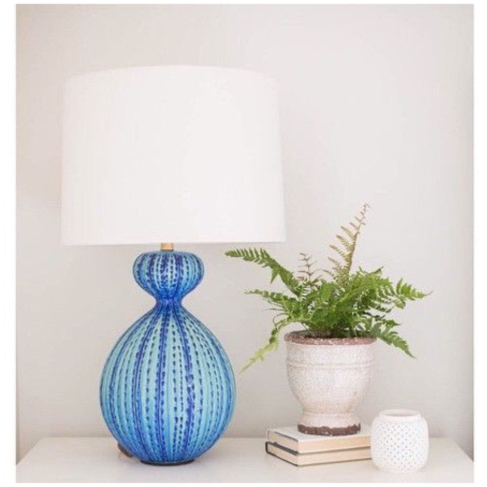 AERIN Garnnet Table Lamp Aquamarine