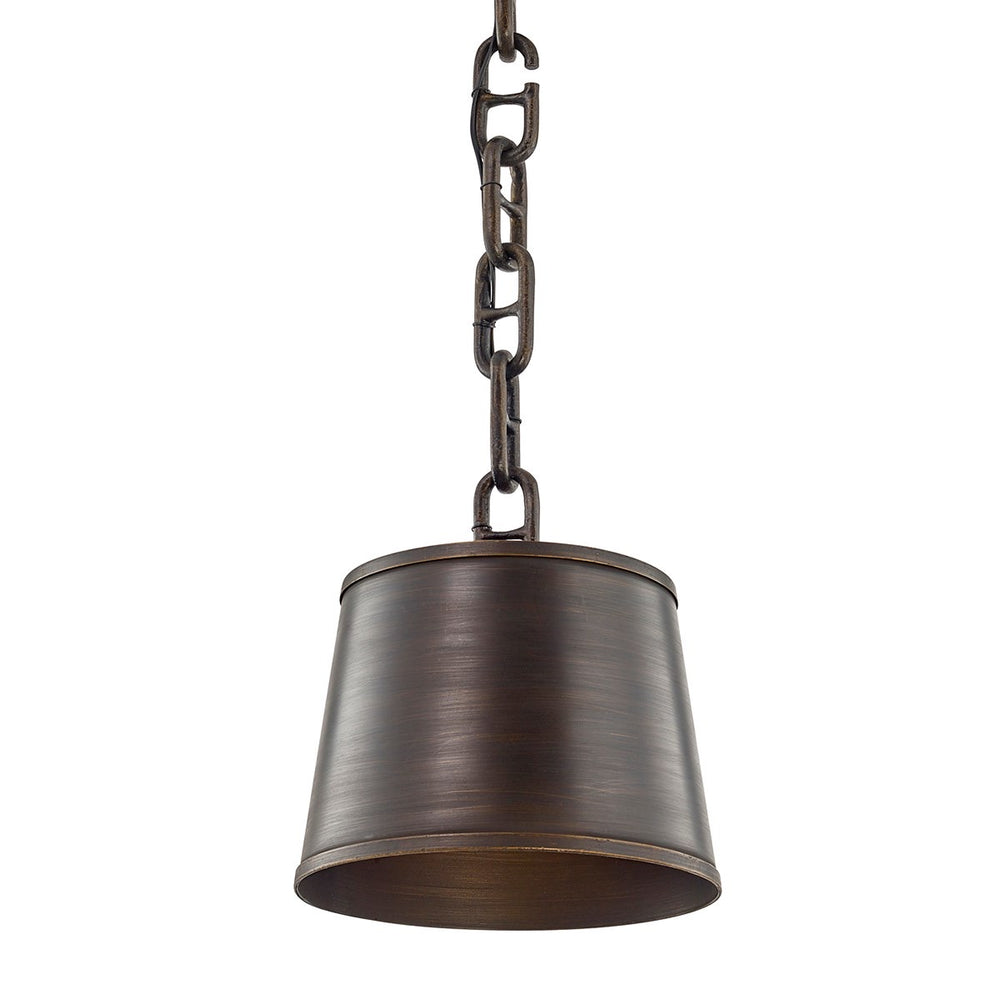 Troy Lighting Small Admirals Row Pompeii Bronze Ceiling Light