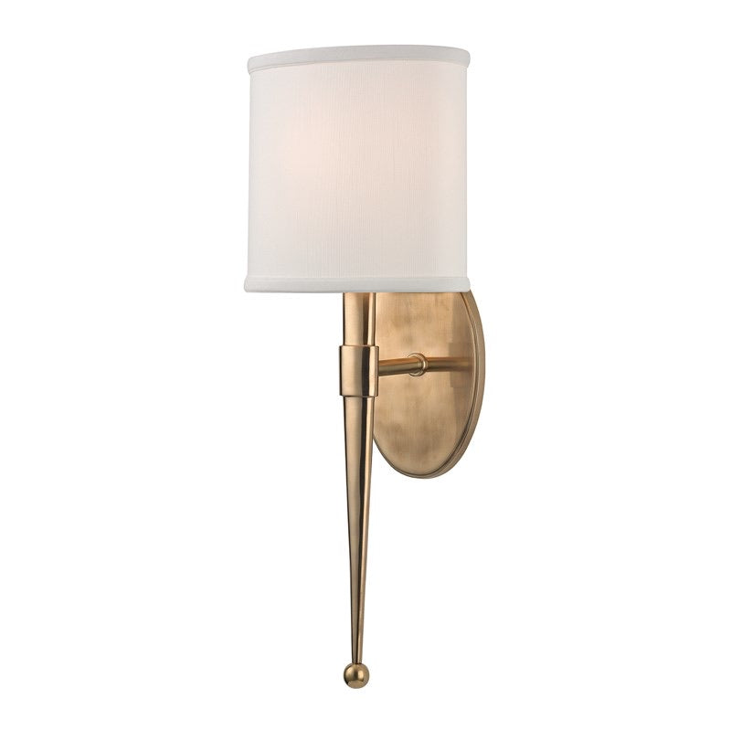 Hudson Valley Madison Aged Brass Wall Light