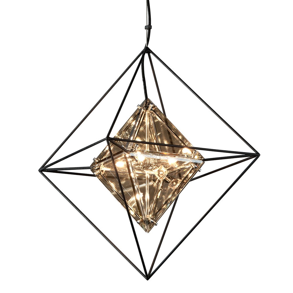 Troy Lighting Epic Forged Iron Small Ceiling Light