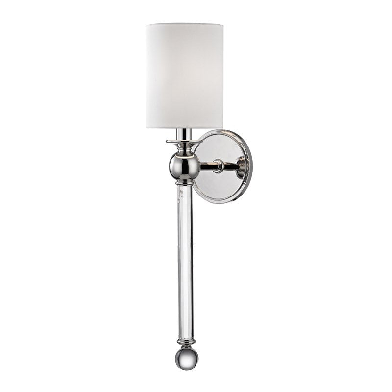 Hudson Valley Gordon Polished Nickel Wall Light
