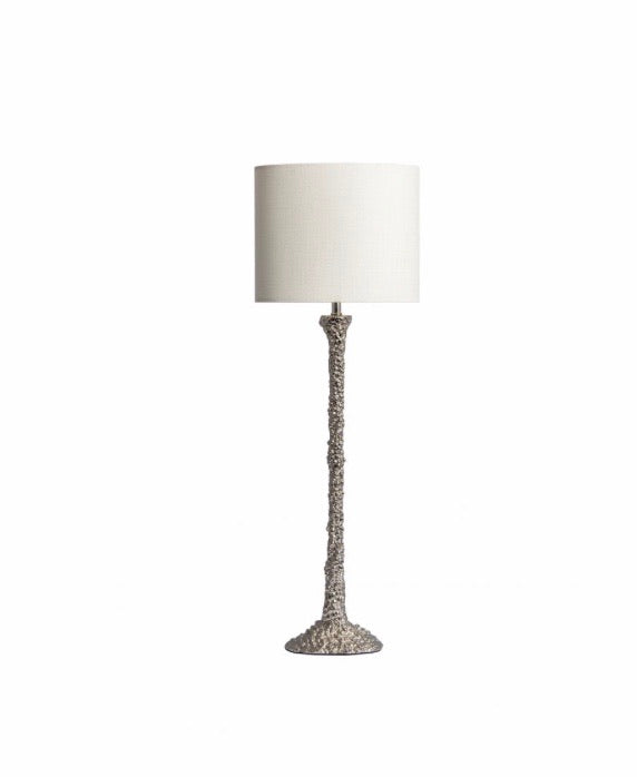 Heathfield & Co Helena Nickel Table Lamp