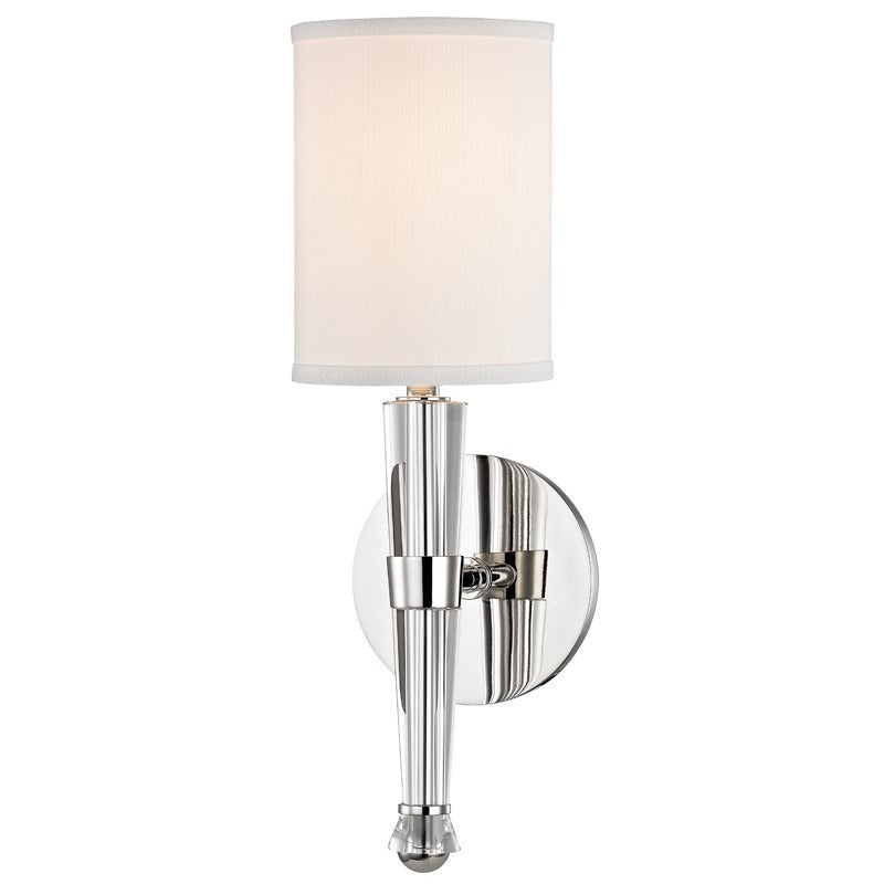 Hudson Valley Volta Polished Nickel Wall Light - Decolight Ltd
