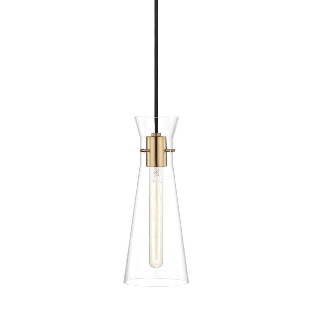 Mitzi Lighting Anya Aged Brass Pendant Ceiling Light