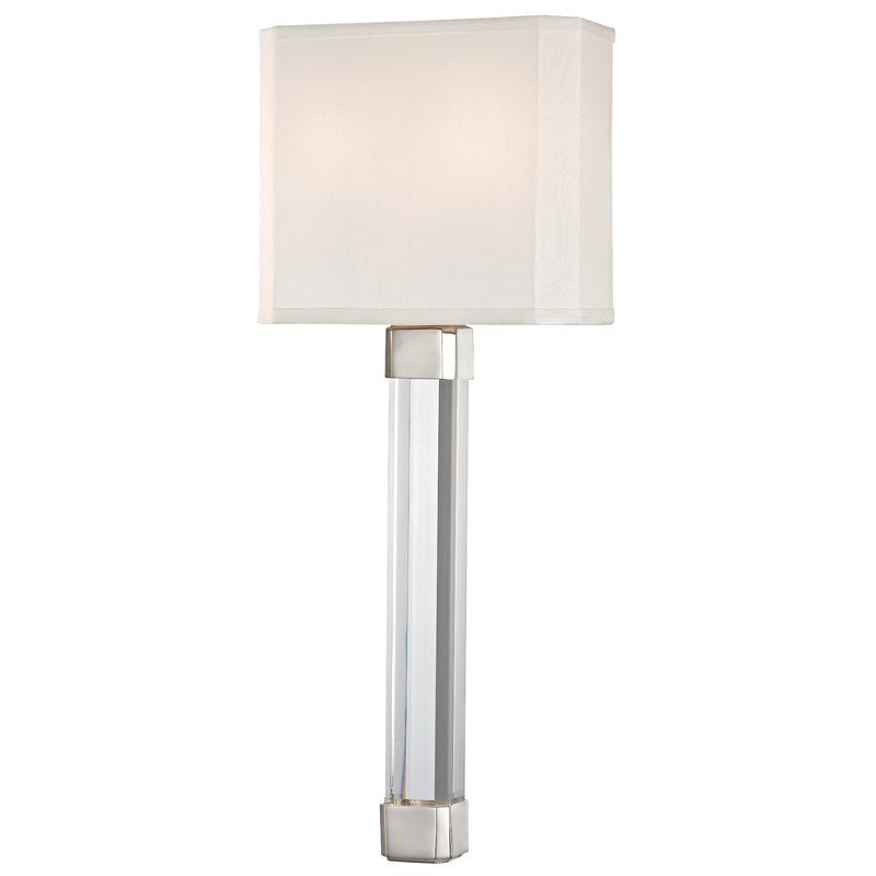 Hudson Valley Larissa Polished Nickel Wall Light