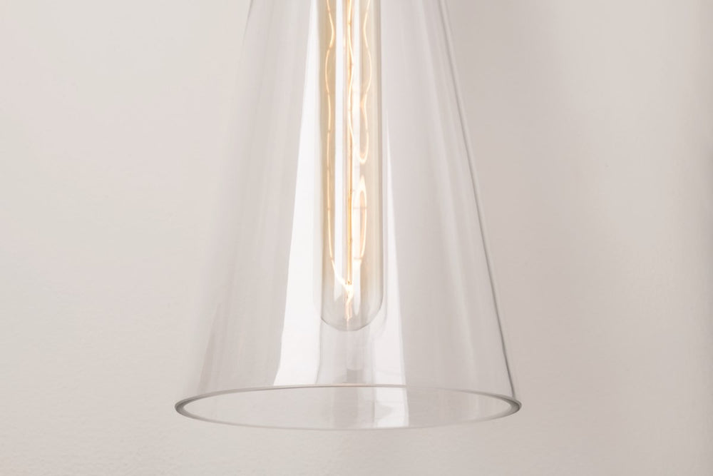 Mitzi Lighting Anya Aged Brass Wall Light - Decolight Ltd