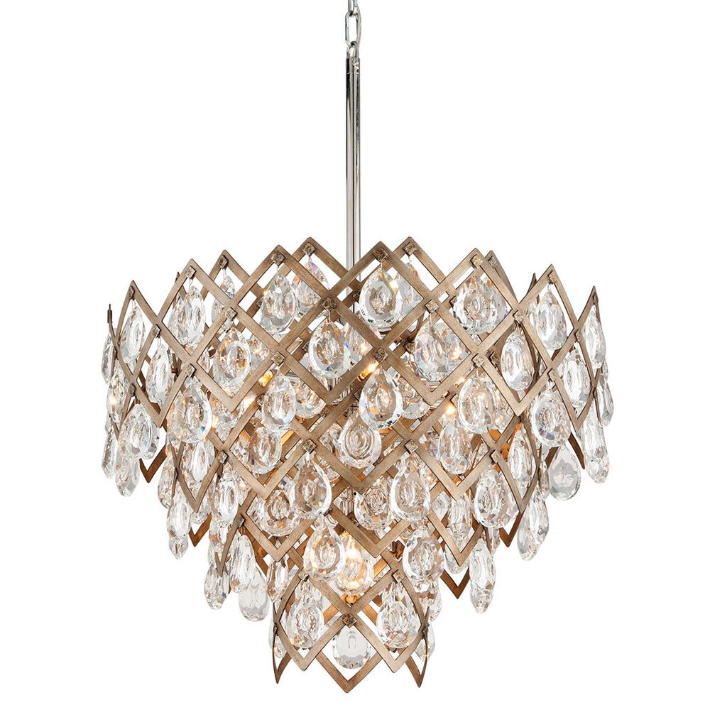 Corbett Lighting Tiara Medium Vienna Bronze Ceiling Light - Decolight Ltd
