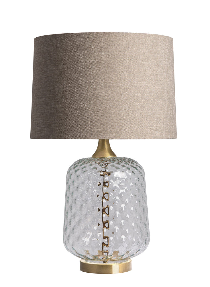 Heathfield & Co Risco Clear Table Lamp - Decolight Ltd