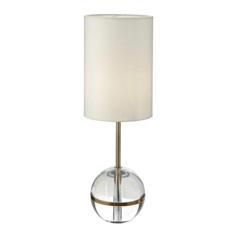 Decolight Fionn Crystal Bedside Table Lamp