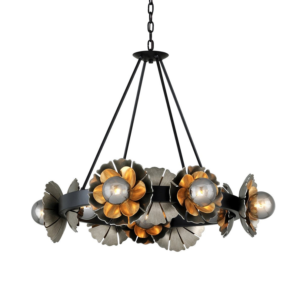 Corbett Lighting Magic Garden Small Black Graphite With Bronze Accents By Martyn Lawrence Bullard Ceiling Light