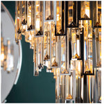 Decolight Salzburg Crystalline Medium Chandelier Ceiling Pendant - Decolight Ltd