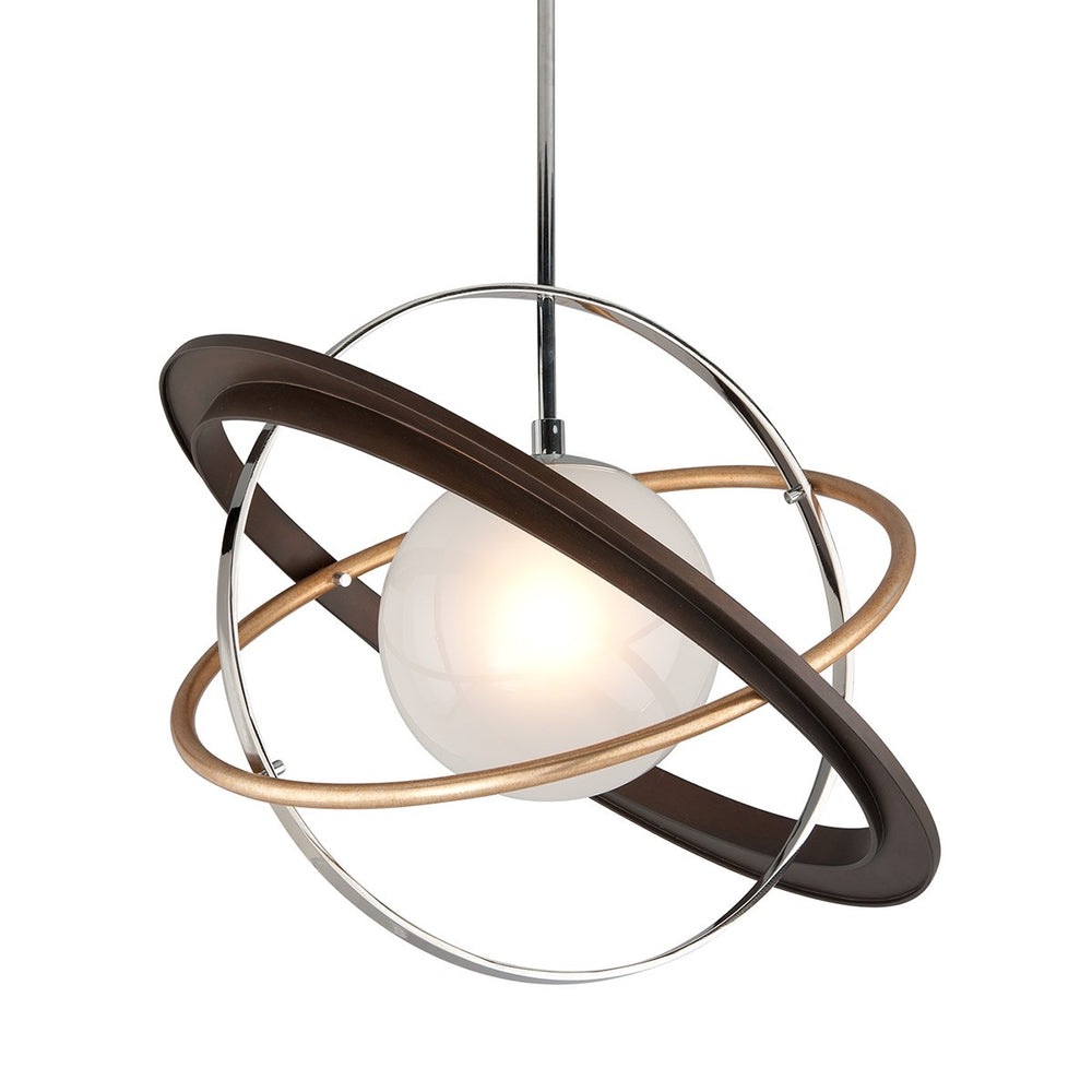 Troy Lighting Apogee Two-Tone Ceiling Light - Decolight Ltd