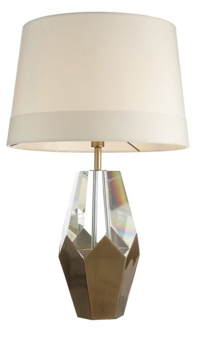 Decolight Kinsey Brass Table Lamp - Decolight Ltd