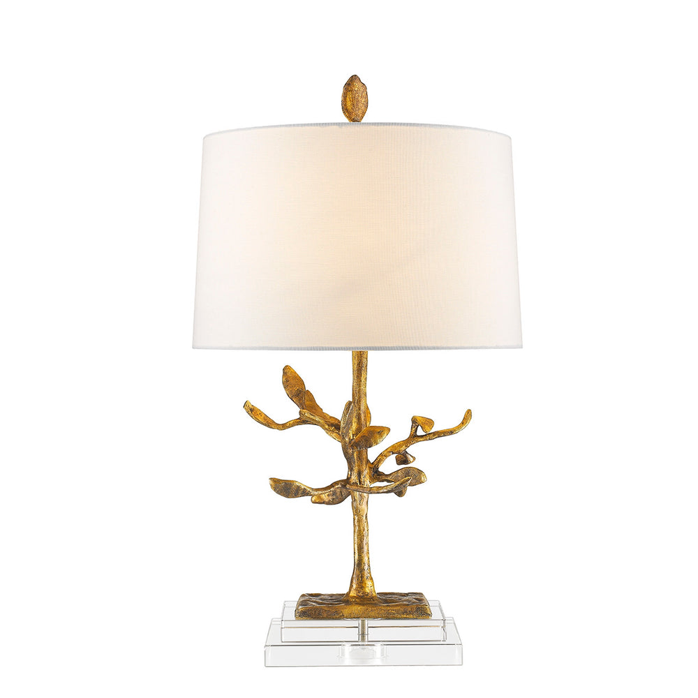 Decolight Carrie Gold Leaf Table Lamp - Decolight Ltd