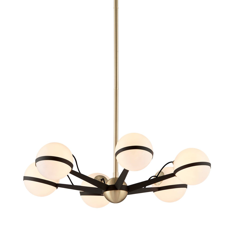 Troy Lighting Ace 6lt Ceiling Pendant Light - Decolight Ltd