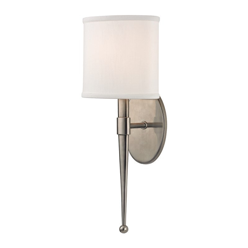 Hudson Valley Madison Historic Nickel Wall Light