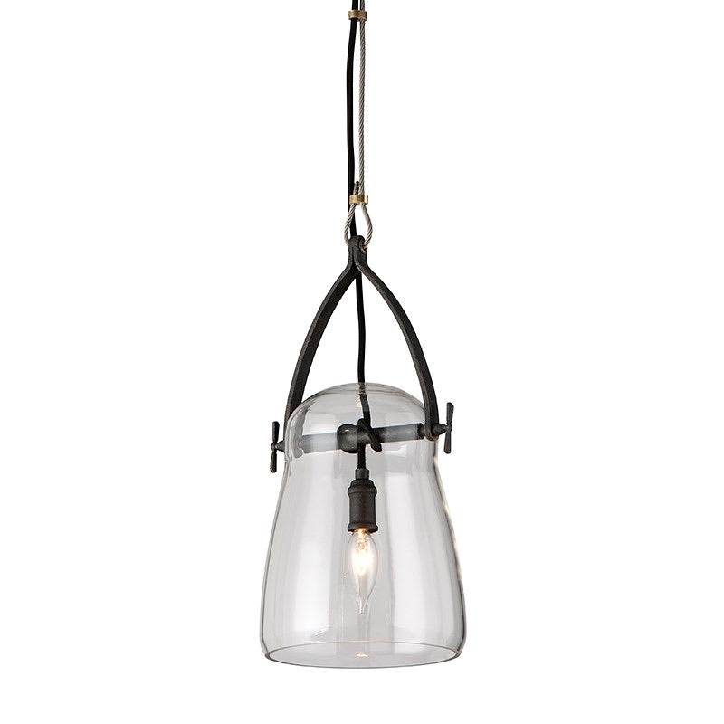 Troy Lighting Small Silverlake French Iron Ceiling Light - Decolight Ltd