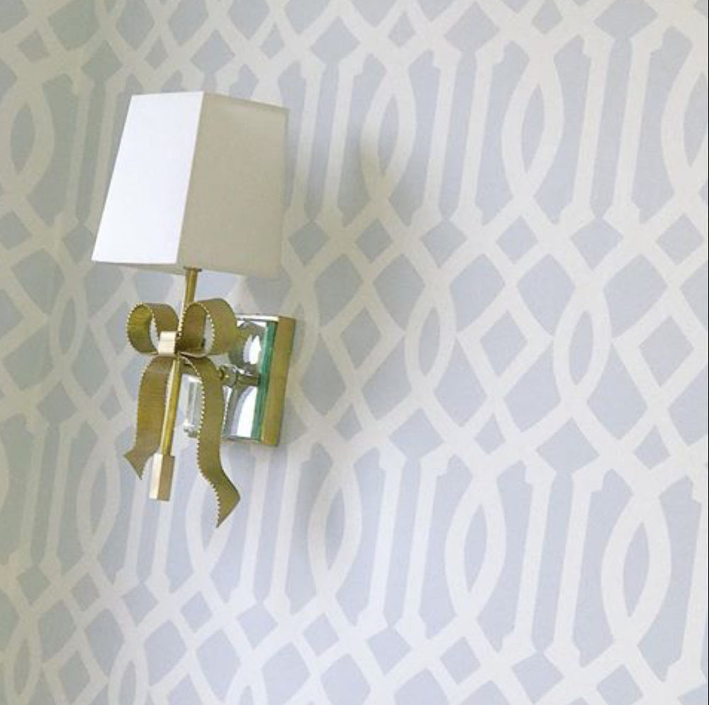 Decolight Ellery Small Bow Wall light in Soft Brass - Decolight Ltd