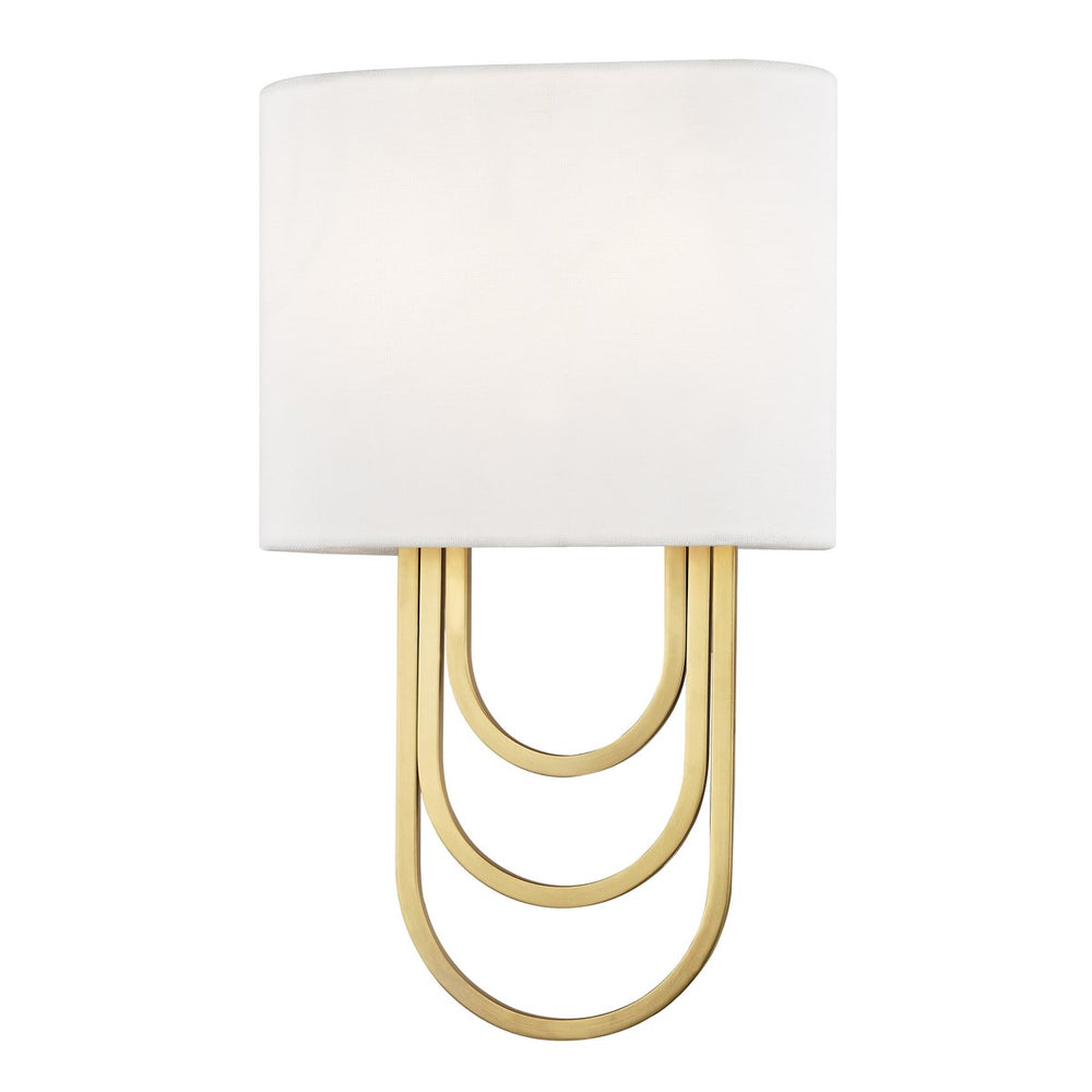 Mitzi Lighting Farah Aged Brass Wall Light