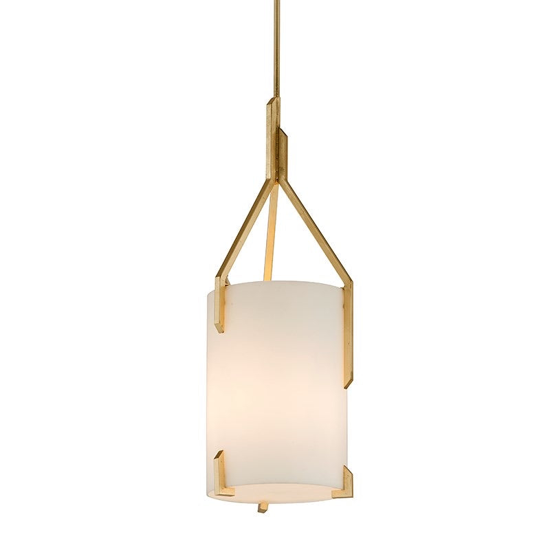 Troy Lighting Large Quantum Gold Leaf Ceiling Light - Decolight Ltd
