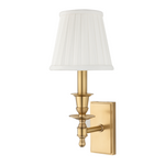 Hudson Valley Ludlow Aged Brass Wall Light