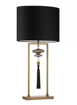 Heathfield & Co Constance Antique Brass & Black - Decolight Ltd