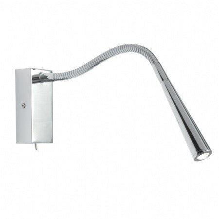 Decolight Highclare Chrome LED Reading Light - Decolight Ltd