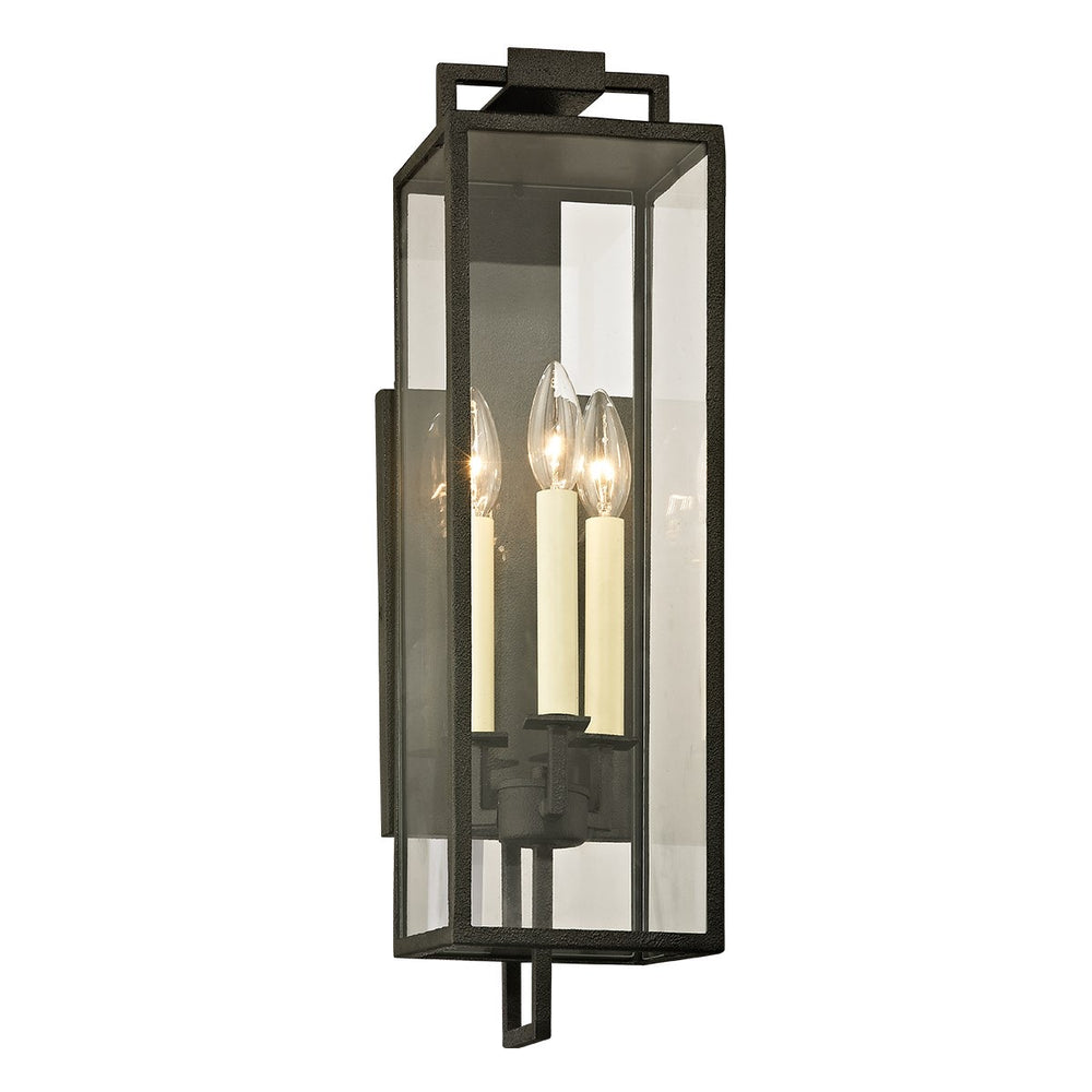 Troy Lighting Medium Beckham Forged Iron Wall Light